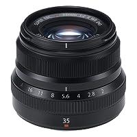 Fujifilm Fujinon XF35mmF2 R WR Camera Lens, Black