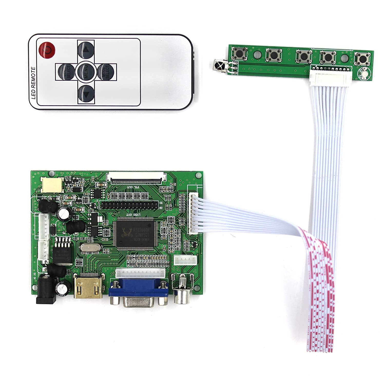 Amazon com: VSDISPLAY HDMI+VGA+2AV LCD Controller Board Work