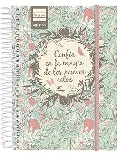 Finocam - Agenda 2019-2020 1 día página español Prints ...