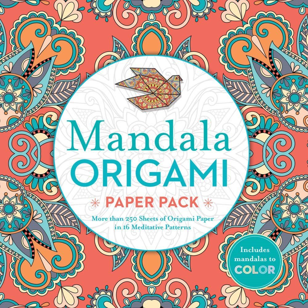 Mandala Origami Paper Pack: More than 250 Sheets of Origami Paper in ...