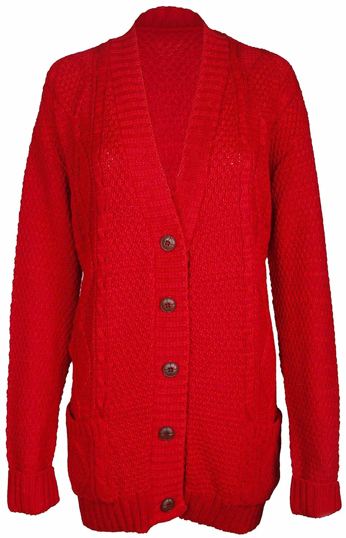 PurpleHanger Women's Knit Sweater Cardigan Top Plus Size at Amazon ...