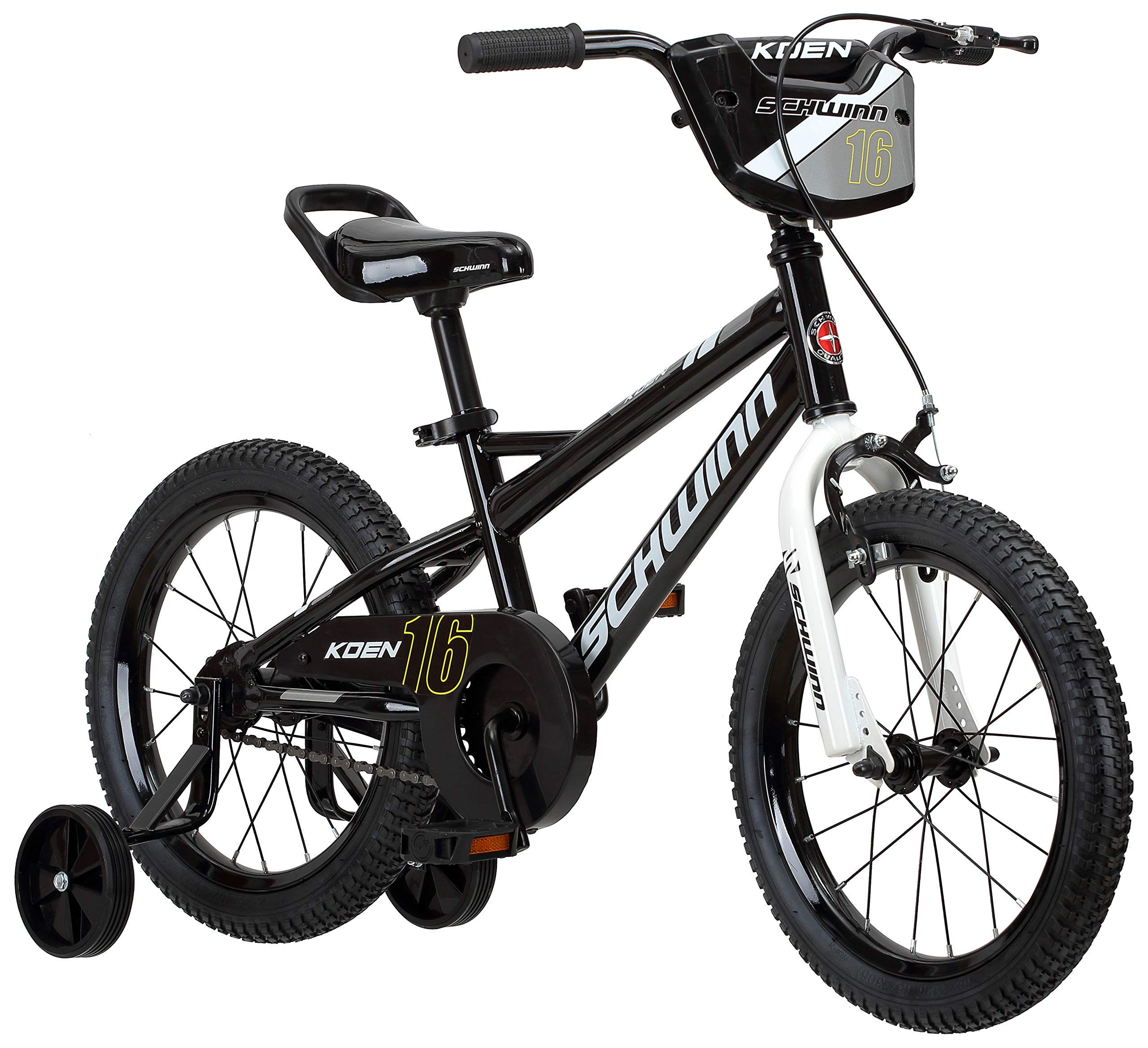 Schwinn Koen Boy's Bike with SmartStart, 16'' Wheels, Black