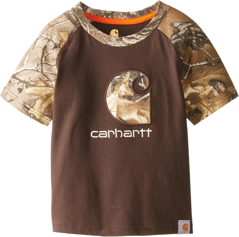 Carhartt Boys Little Camo Raglan Tee Toddler