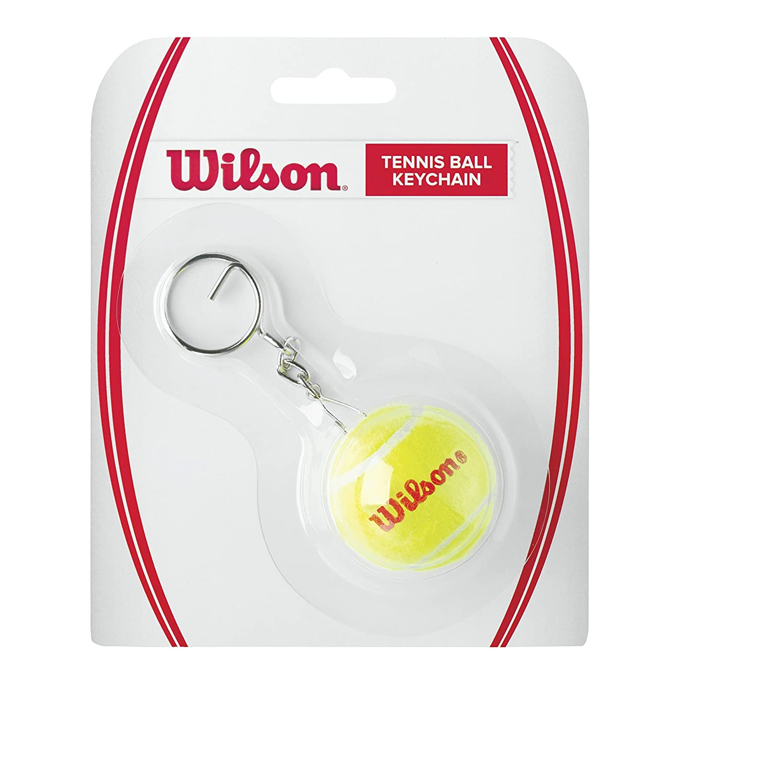 Wilson Mini Tennis Ball Key Chain