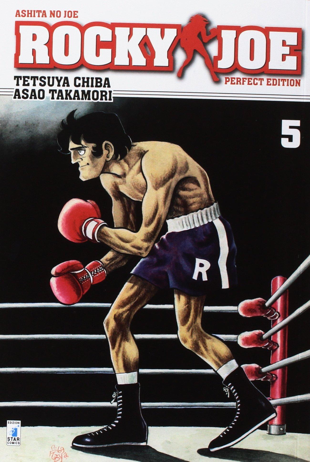 rocky joe  : Rocky Joe. Perfect edition: 5 - Tetsuya Chiba, Asao ...
