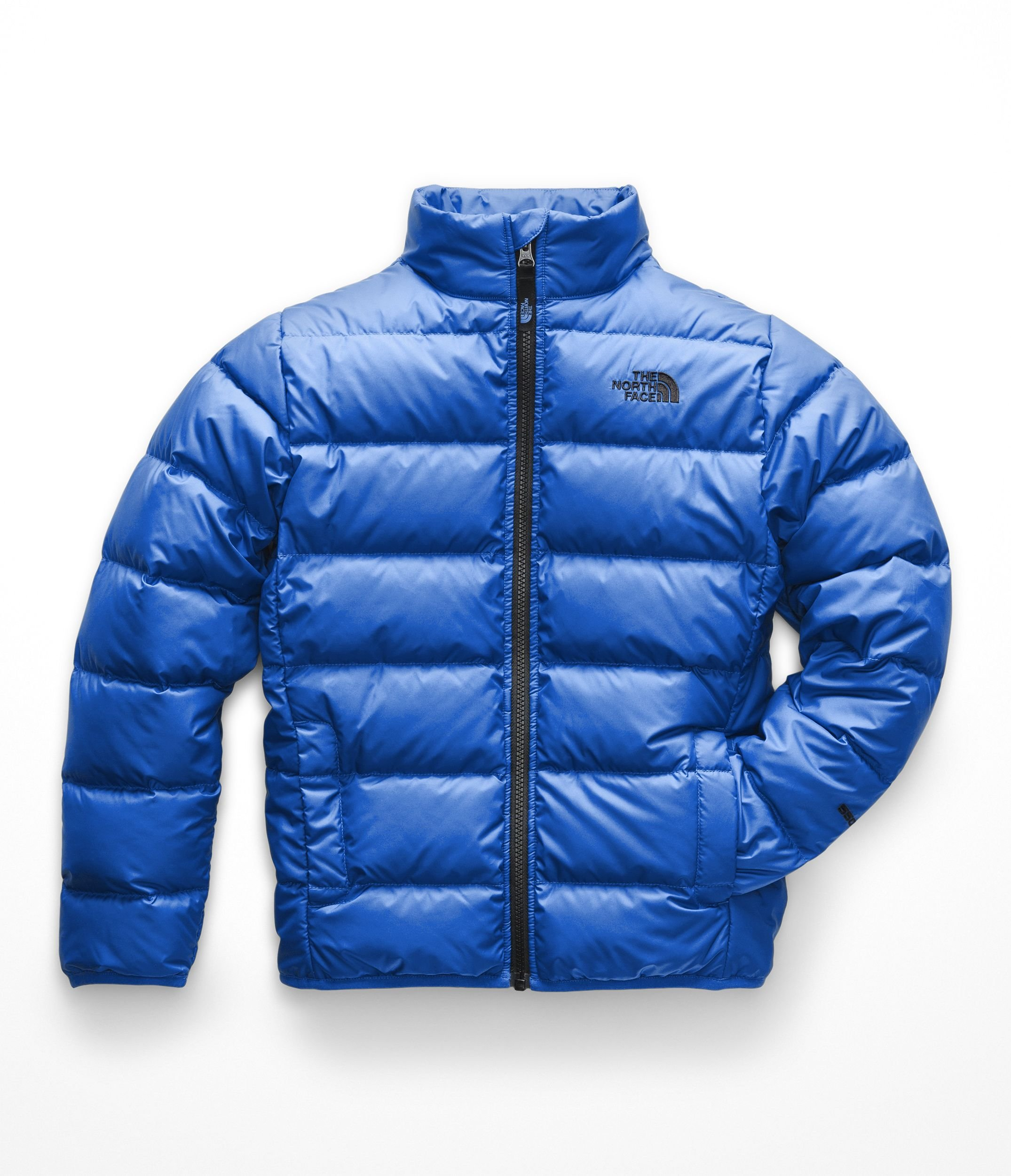 The North Face Kids Boy's Andes Jacket (Little Kids/Big Kids) Turkish Sea Large