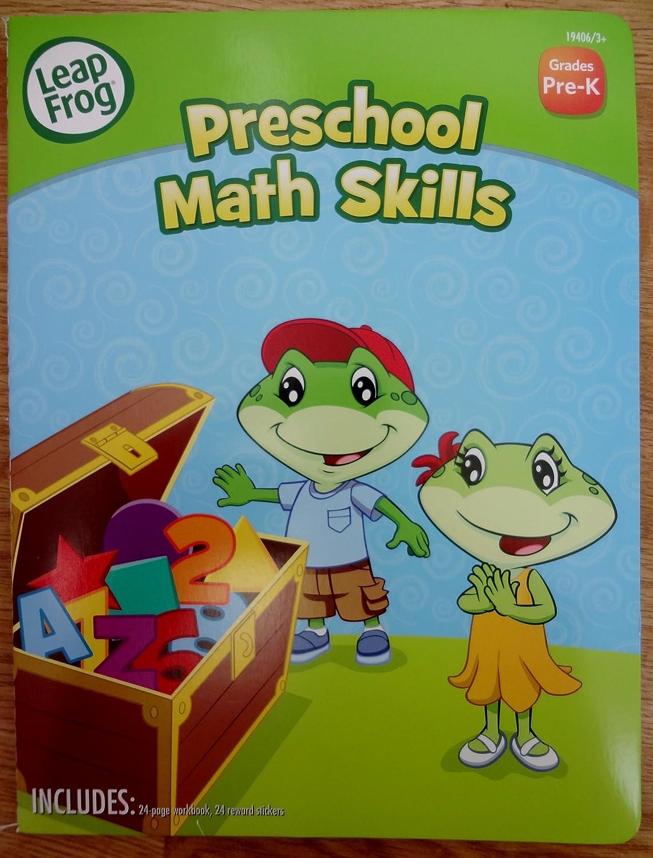 Workbooks pre k workbook : Amazon.com: Leapfrog Preschool Math Skills (Grades Pre-k) Workbook ...