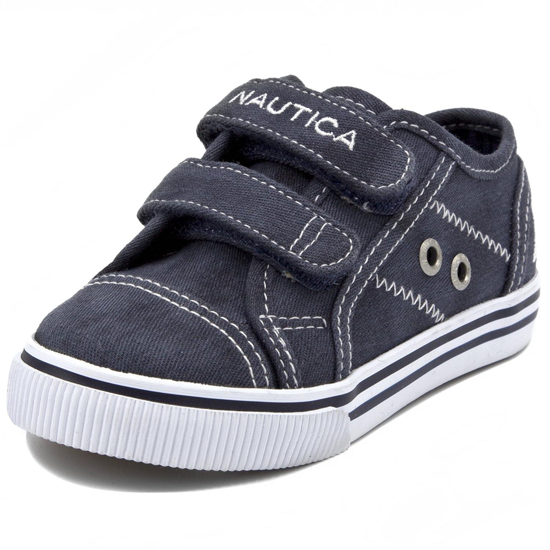 f4f70228 Amazon.com   Nautica Kids Colburn Little Kids Toddler Velcro Fashion  Sneaker Boys Girls Shoes   Loafers