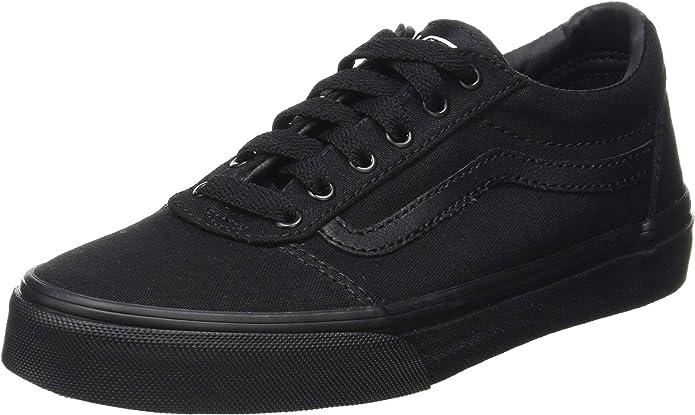 Vans Ward Sneakers Jungen Mädchen Kinder Schwarz