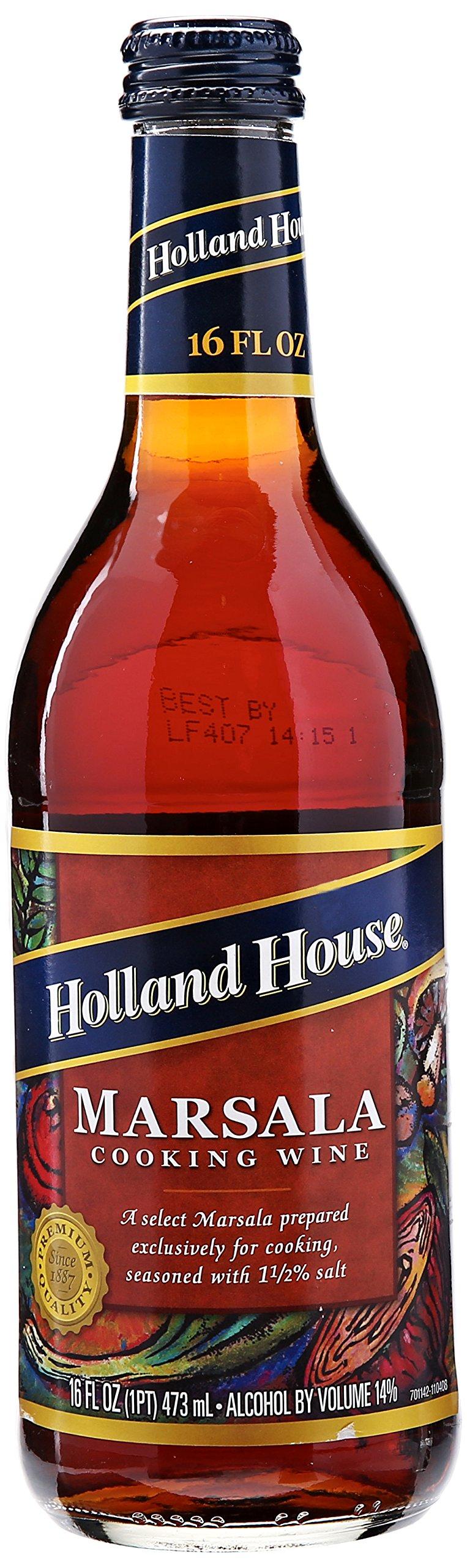 Holland House Marsala Cooking Wine, 16 oz