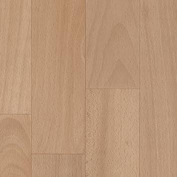300 und 400 cm breit BODENMEISTER BM70555 PVC CV Vinyl Bodenbelag Auslegware Holzoptik Schiffsboden Buche 200 verschiedene L/ängen Variante: 5,5 x 4 m