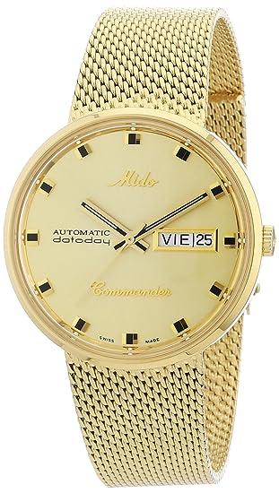 8ca3c799bb2a MIDO M842932213 Reloj de Lujo para Hombre  Mido  Amazon.com.mx  Relojes