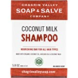 Organic Natural Shampoo Bar, Coconut Milk, Chagrin Valley Soap & Salve