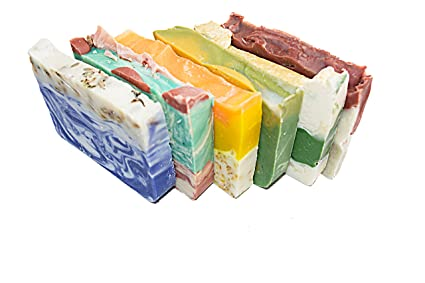 Barra de Jabón de flores (6 barras)-de invitados jabones. brasileño ...