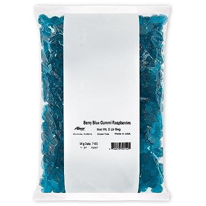 Osos de goma Albanese Beary, de frambuesa azul, bolsas de 5 ...