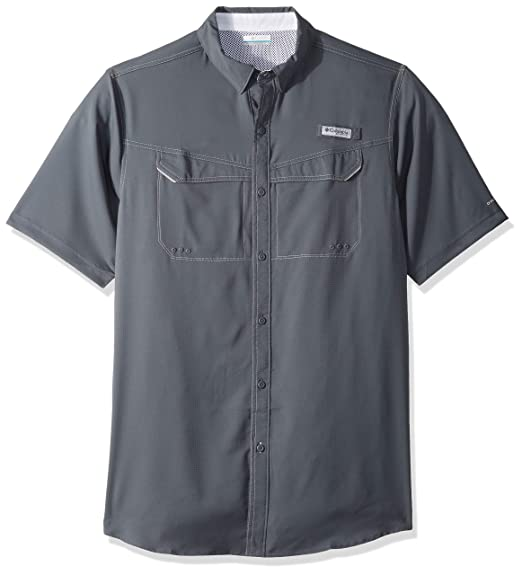 7590d00d7e5 Amazon.com: Columbia Men's Low Drag Offshore Short Sleeve Shirt, UPF 40 Sun  Protection and Moisture Wicking: Clothing