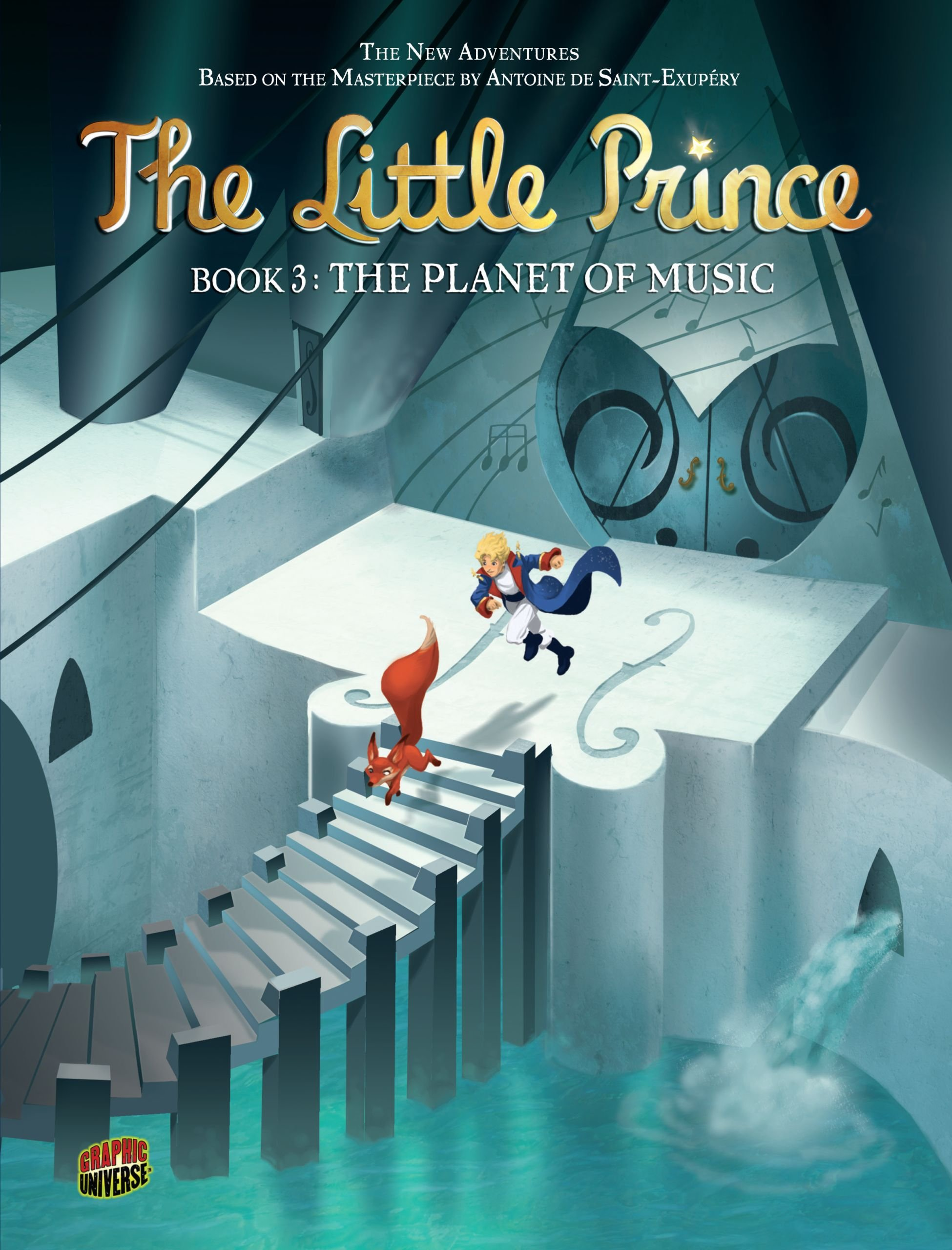 Download The Planet of Music (The Little Prince) (Graphic Universe) ebook