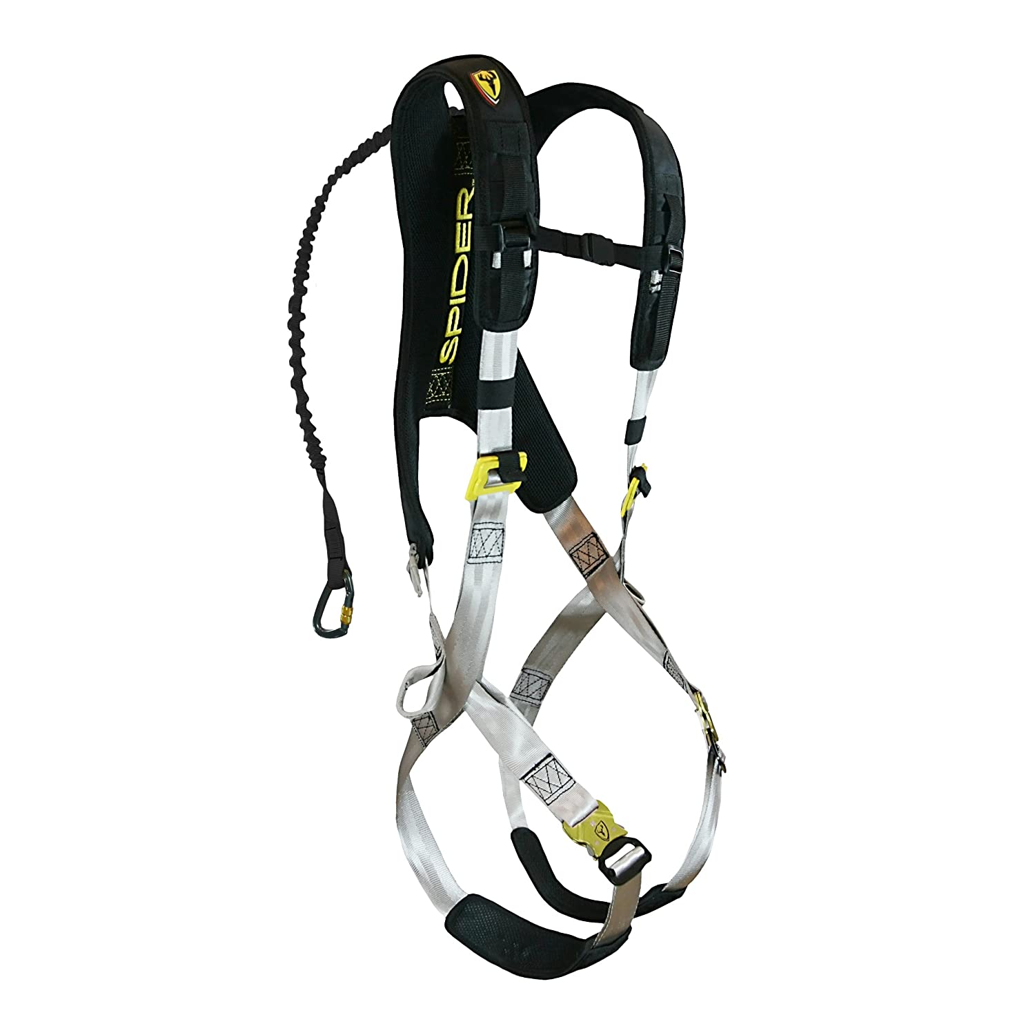81OVUSDAsvL._SL1500_ amazon com tree spider speed harness (large x large) climbing spider wire harness at eliteediting.co