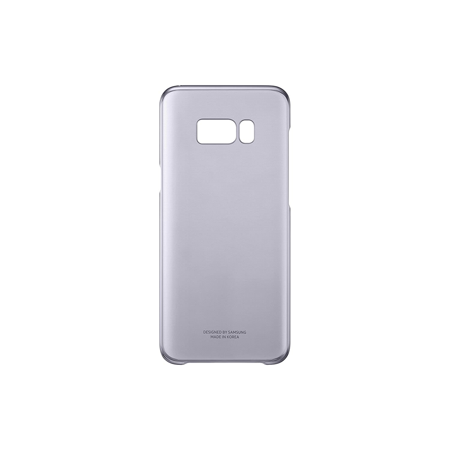 Samsung Dream Clear Cover, Funda para smartphone Samsung Galaxy S8, Violeta