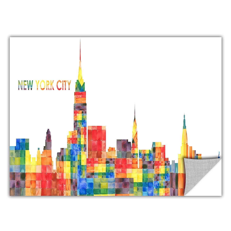 18 by 48-Inch ArtWall ArtApeelz Revolver Ocelot New York City Removable Graphic Wall Art