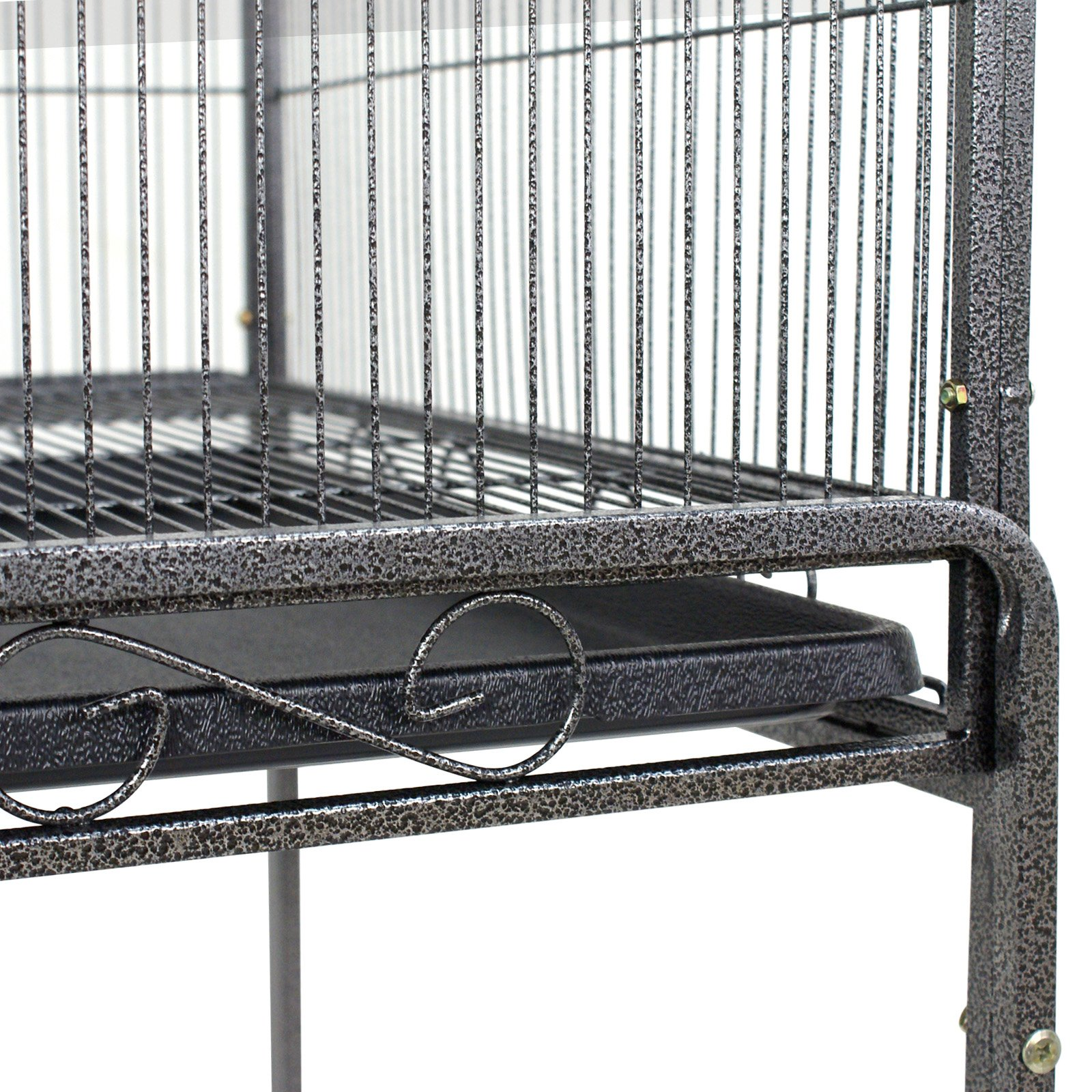 Super Deal 53''/61''/68'' Large Bird Cage Play Top Parrot Chinchilla Cage Macaw Cockatiel Cockatoo Pet House, 53 inch by SuperDealUsa (Image #5)