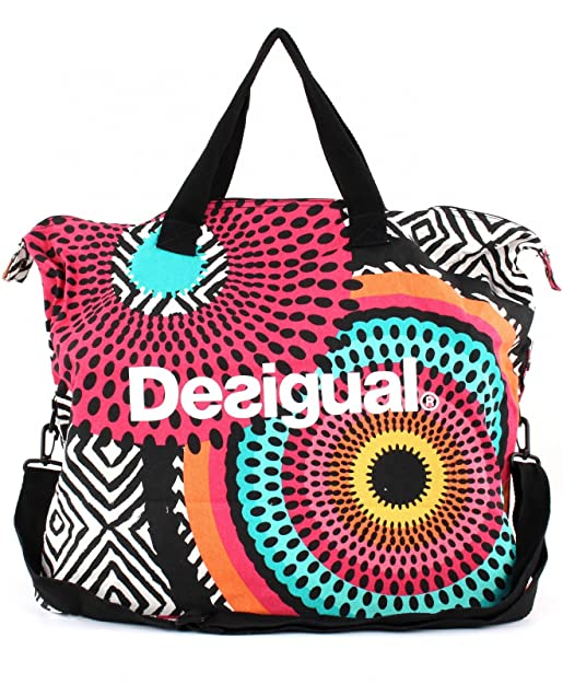 Desigual Bols Sackful Bag B Paradise Rose 2FJSnY