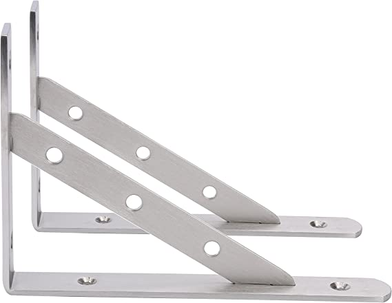 Stainless Steel Metal Bracket with 1//4 and 3//8 Screw Switches Adjustable Stand