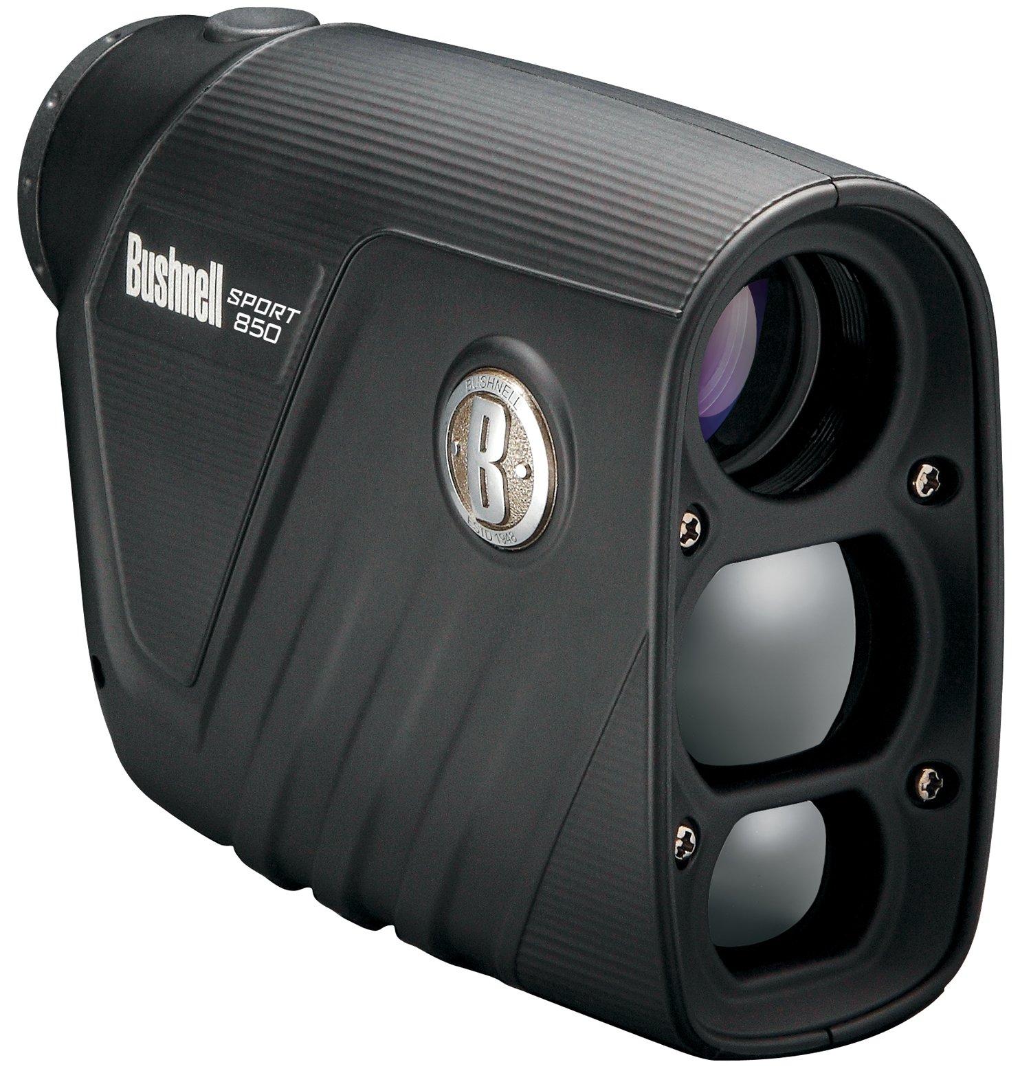 Bushnell Sport 850 4x 20mm 1-Button Operation Compact Laser Rangefinder by Bushnell