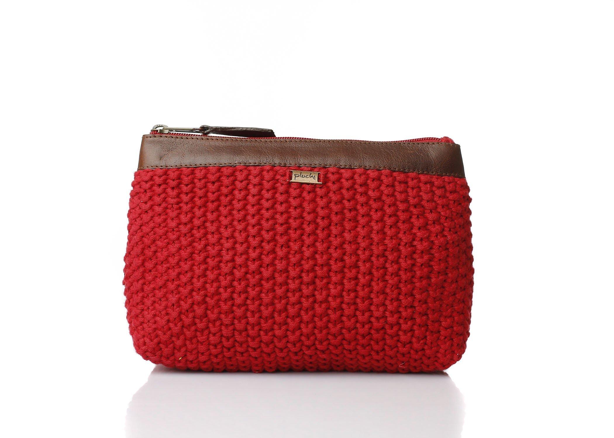 Pluchi Travel Pouch/Handbag/Clutch Handbag (Veronica, 11x6.5)
