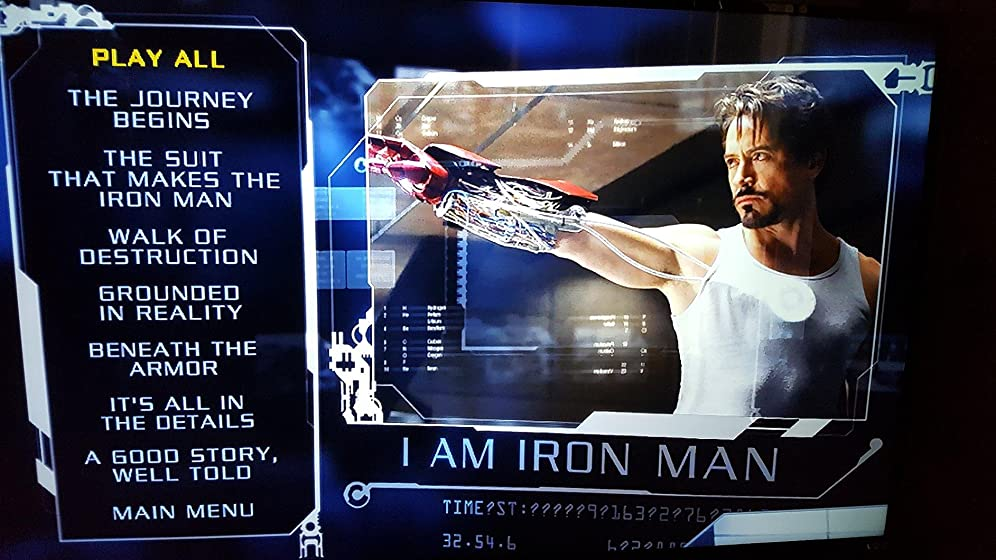 Iron Man ~ IRON MAN starts the Marvel Cinematic Universe
