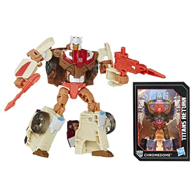 Transformers Generations Titans Return Titan Master Autobot Stylor and Chromedome: Toys & Games