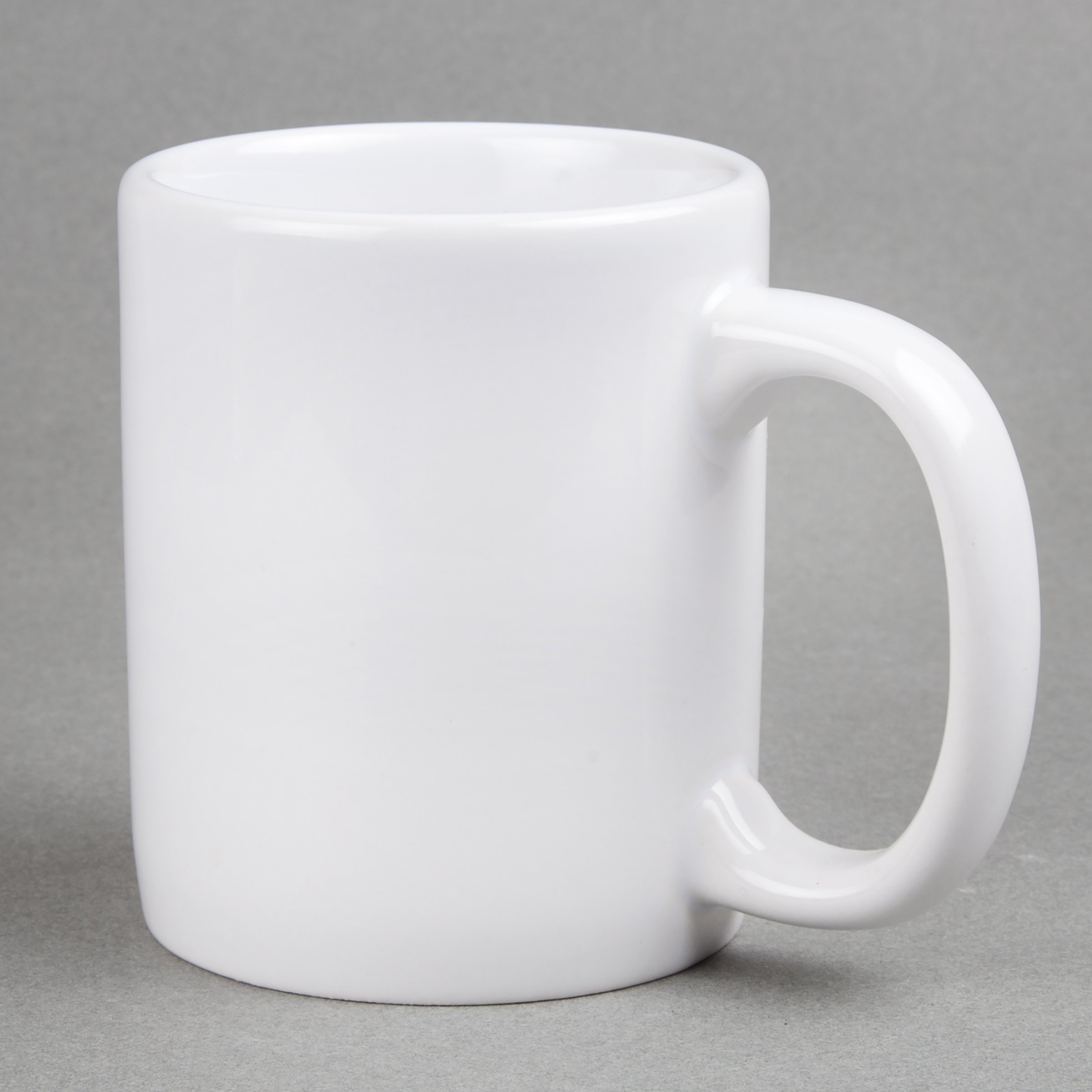 Creative Home 85355 Set of 6 Piece, 12 Oz Ceramic Coffee Mug Tea Cup, 3-1/4'' D x 4'' H, White by Creative Home (Image #3)