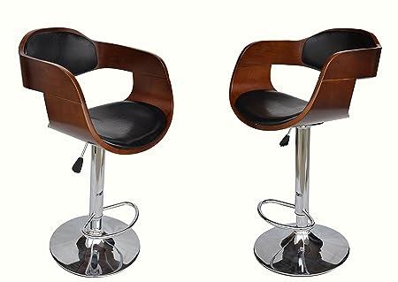 Awe Inspiring Harrod Walnut Padded Faux Leather Chrome Kitchen Breakfast Short Links Chair Design For Home Short Linksinfo