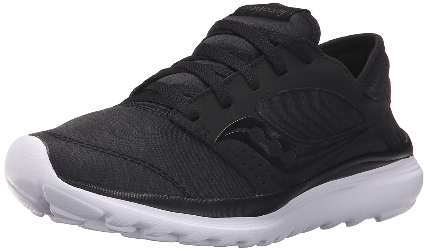 Saucony Women's Kineta Relay Running Shoe B018FC4NW0 6.5 B(M) US|Black/Black