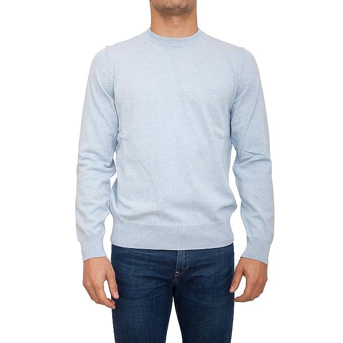 BOSS Hugo Pacas L - Traje de Punto de algodón, Color Azul ...