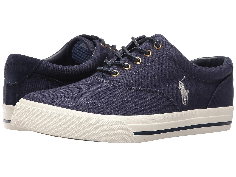 [Polo Ralph Lauren(ポロラルフローレン)] メンズカジュアルシューズスニーカー靴 Vaughn Newport Navy 8 (26.5cm) M B07DC9CFY4