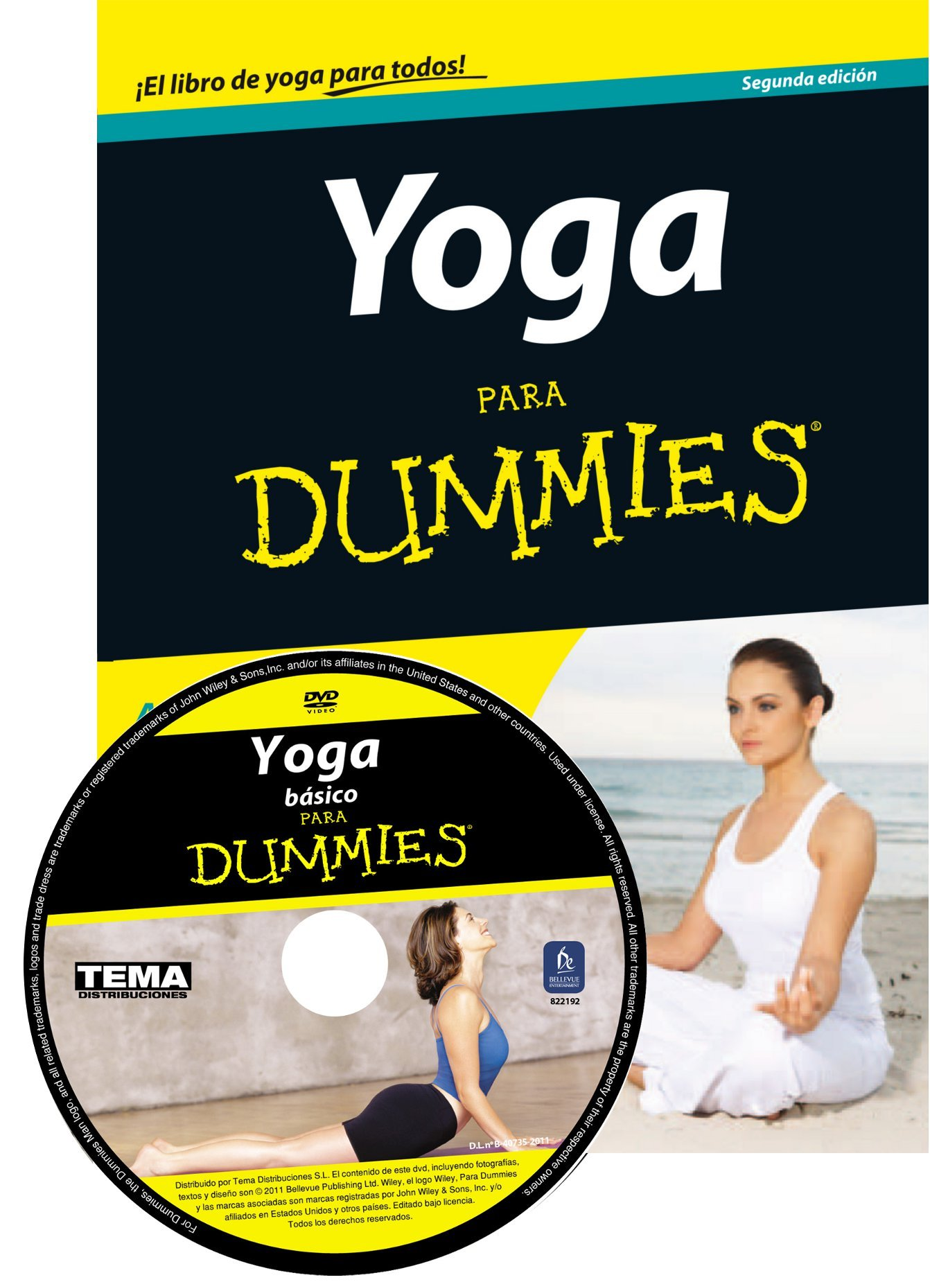 Pack Yoga para Dummies + DVD: georg feuerstein larry payne ...