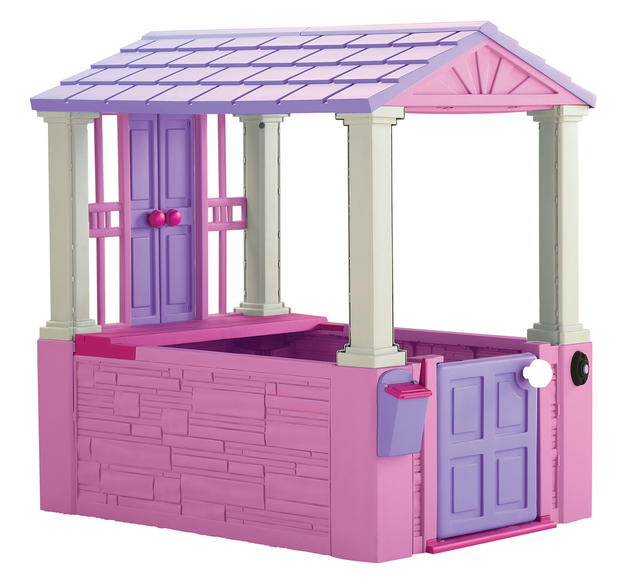 American Plastic Toys My Very Own Dream Cottage Interactive Playhouse for Kids, Pink by American Plastic Toys (Image #1)