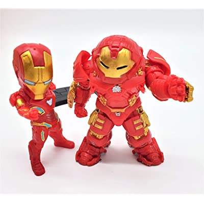 Prodigy Toys Iron Man Action Figure / Mark 6 (Mark VI) / Mark 44 (Mark XLIV) Superheroes Set: Toys & Games