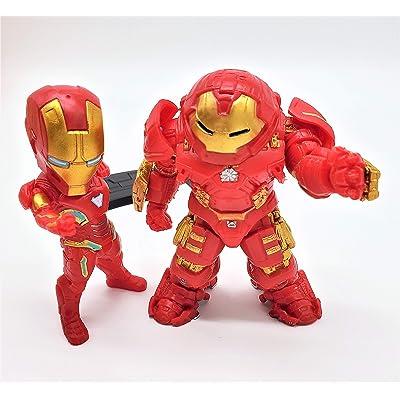 Prodigy Toys Iron Man Action Figure / Mark 6 (Mark VI) / Mark 44 (Mark XLIV) Superheroes Set: Toys & Games [5Bkhe2005822]