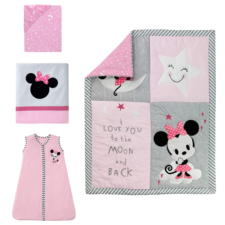 Lambs /& Ivy Disney Minnie Mouse Baby Nursery Crib Bedding CHOOSE 4 5 6 7 PC Set