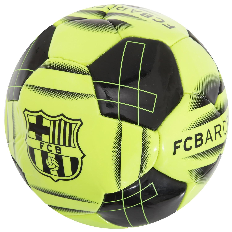 FC Barcelona Official - Balón de fútbol diseño amarillo flúor ...