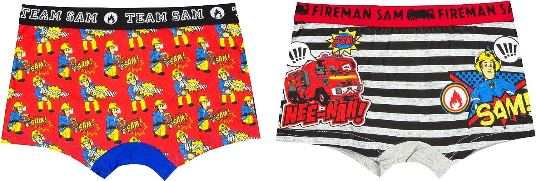 Feuerwehrmann-Sam Unterhose Boxershort 2er Set