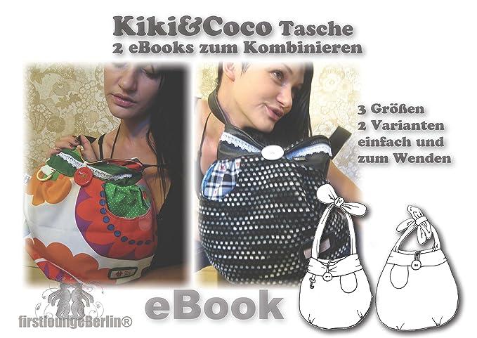 Kiki&Coco Nähanleitung mit Schnittmuster auf CD für Umhängetasche, 2 ...