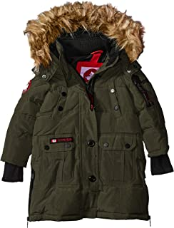 CANADA WEATHER GEAR Girls  Toddler Outerwear Jacket (More Styles Available) 40619777ef