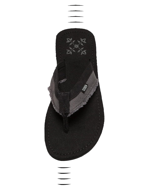 OXBOW Herren Schuhe/Sandalen Valpero Mix Fabric RawOXBOW Sandalen Valpero Mix Fabric Schwarz Billig und erschwinglich Im Verkauf