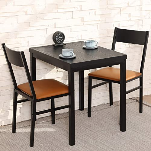 HOMURY 3 Piece Dining Table Set