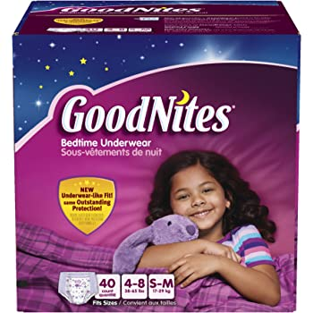 Wear goodnites diaper after sex