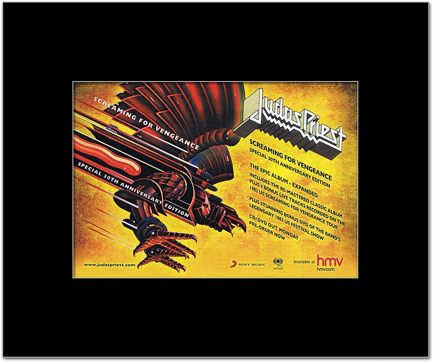 Amazon Com Music Ad World Judas Priest Screaming For Vengeance