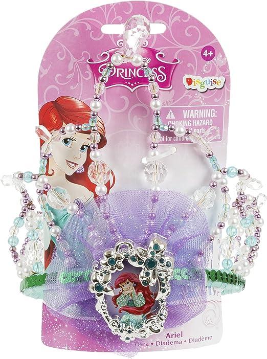 Disguise Disney La Sirenita Ariel Tiara disfraz Accessory: Amazon ...